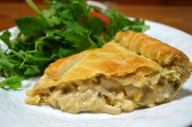 Brazilian Torta de Palmito (Heart of Palm Pie)