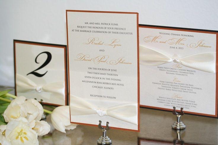 Custom Design Ribbon Set.  http://www.simplypersonal.com/k-scott-weddings