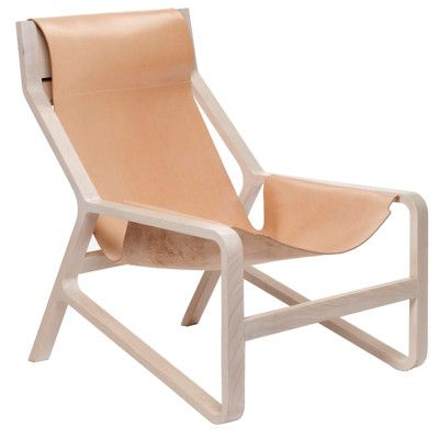 Toro Lounge Chair | Leather side chair, Modern lounge ...