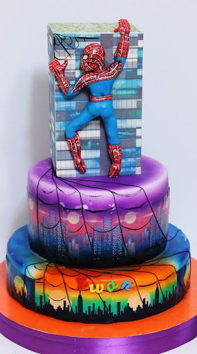 Torturi - Viorica's cakes: Spiderman