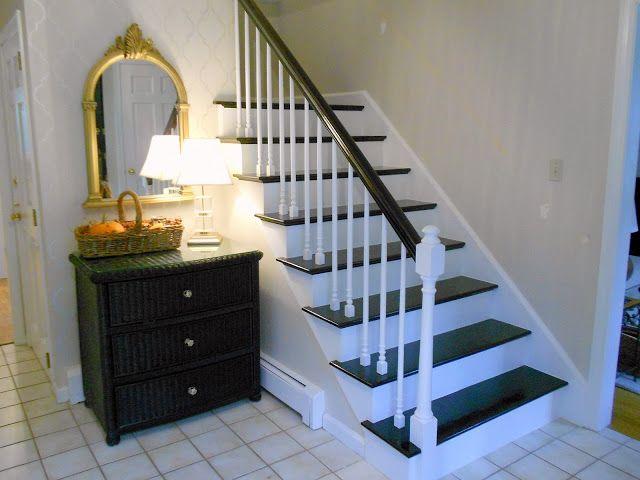 Best Refinishing Hardwood Stairs Painted Stairs Hardwood Stairs Stairs 400 x 300