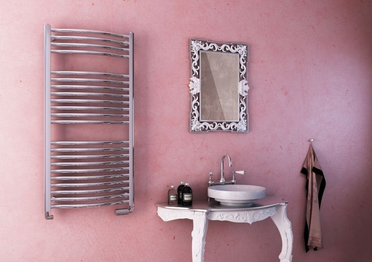 Pearl Bath Extra: Vertical designer towel warmer. Radiator is capable of meeting any heating requirement - offered in an exceptionally wide size selection and in different heating types. Available in 216 colours and chrome. Bathroom radiator available within 4 weeks.