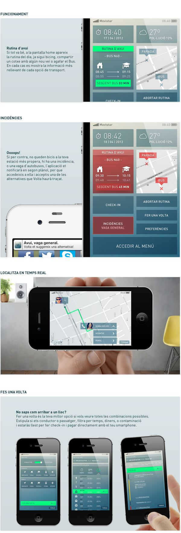 32 best sl route app images on pinterest app design apps and charts volta on behance biocorpaavc Image collections