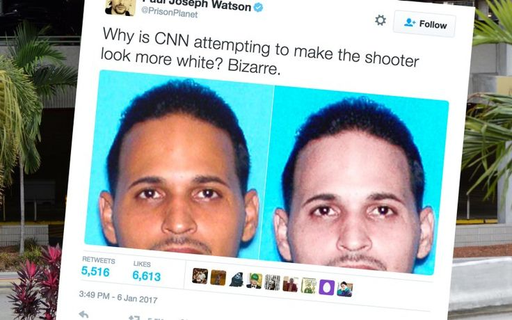 NOPE Alt-Right Frames Wrong Esteban Santiago for Shooting, Kickstarts Racist Conspiracy Theory