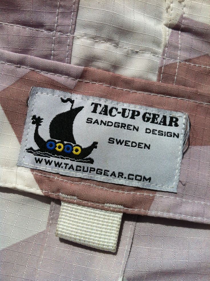 Logolabel on a pair of NEPTUNE Shorts! http://www.tacupgear.com