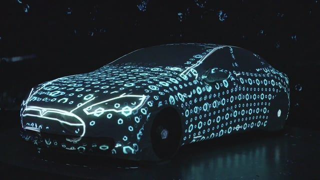 In collaboration with ProVideo, Mindconsole created this projection mapping as a way of testing a new mapping technique rarely used before - Tesla's Model S was the obvious choice for the vehicle being mapped to due to it's unique, bold design.  The mapping utilities 7 projectors - 6 for the 360-degree mapping on the car, and 1 additional for the 'perspective mapping' seen towards the end of the video, in which a visual illusion causes the car to seem as if it is moving.  Music: APLOT - ...