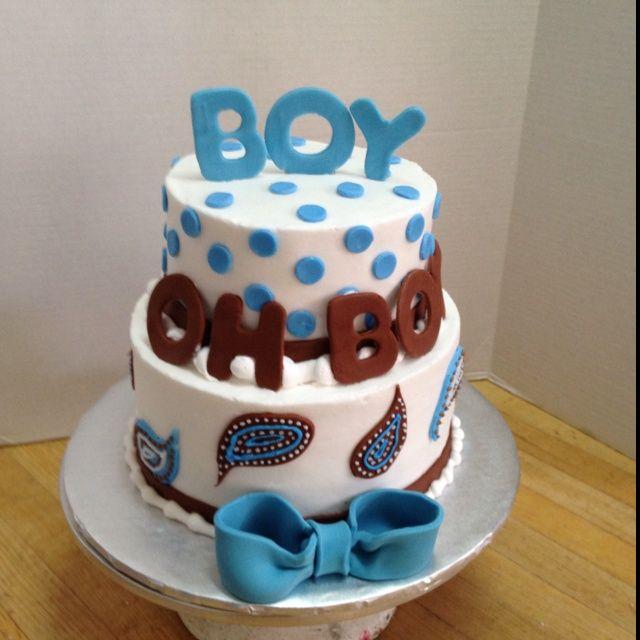 baby boy cakes | Baby Boy Shower Cakes