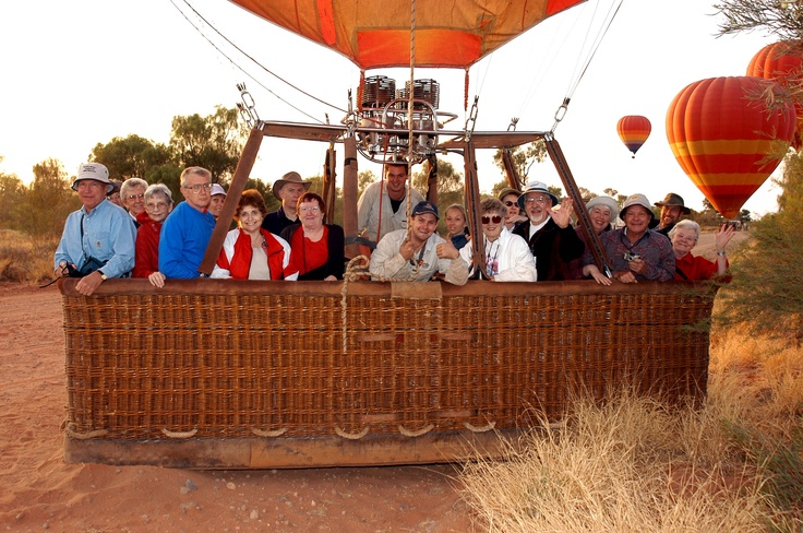 30-minute Alice Springs Champagne Balloon Flight