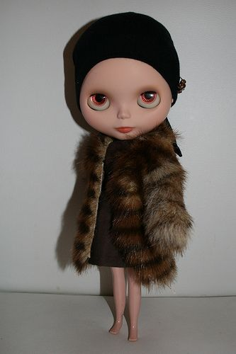 Little Edie (Edie Beale) Blythe Doll by Gina Garan and Christina/Oriettacat.  Pure class!