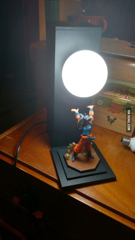 So I made this lamp too, it's for my boyfriend as a bday gif. Nailed it?