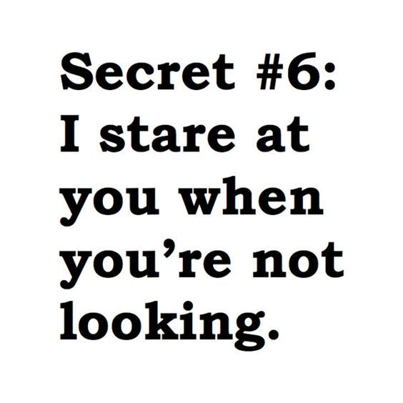 Funny Quotes On Secret Love : Best Secret Crush Quotes on Pinterest Secret crush, My smile quotes ...