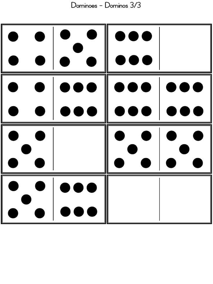 Siguiendo con la recopilación de juegos de mesa , he encontrado en la página de Primera escuela  , este dominó que los peques pueden realiz...
