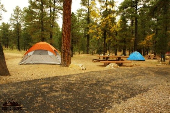 Mather Campground    Grand Canyon National Park    Dirt In My Shoes