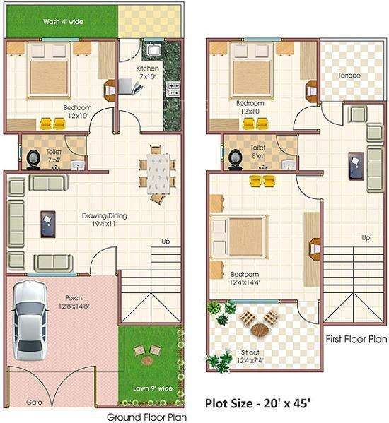 10 best plan images on pinterest home elevation house 35x60 house plans