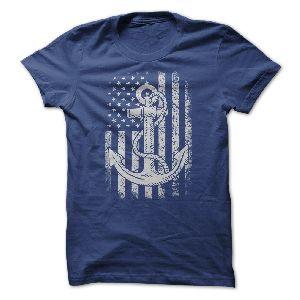 t-shirt US Navy  Flag