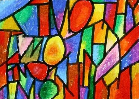 Abstract Art For Grade 4