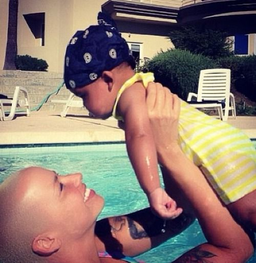 Adorable!!!! Amber Rose with her son.
