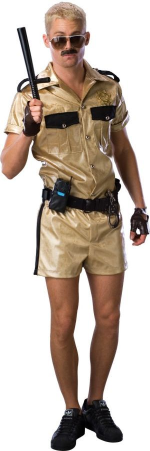 Men's Reno 911 Lt Dangle Deluxe Halloween Costume Size: One Size Fits Most