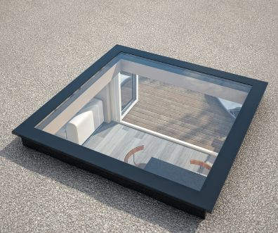 Ecoguard Flat roof light - This is a glazed flat roof light that is fitted onto your own 5 degree pitched upstand. The dimensions for the upstand (to be constructed by you) can be supplied. A flat roof light provides a great addition to any property. https://www.omegabuild.com/shop/shop.php?category=ecogard-flat-roof-light