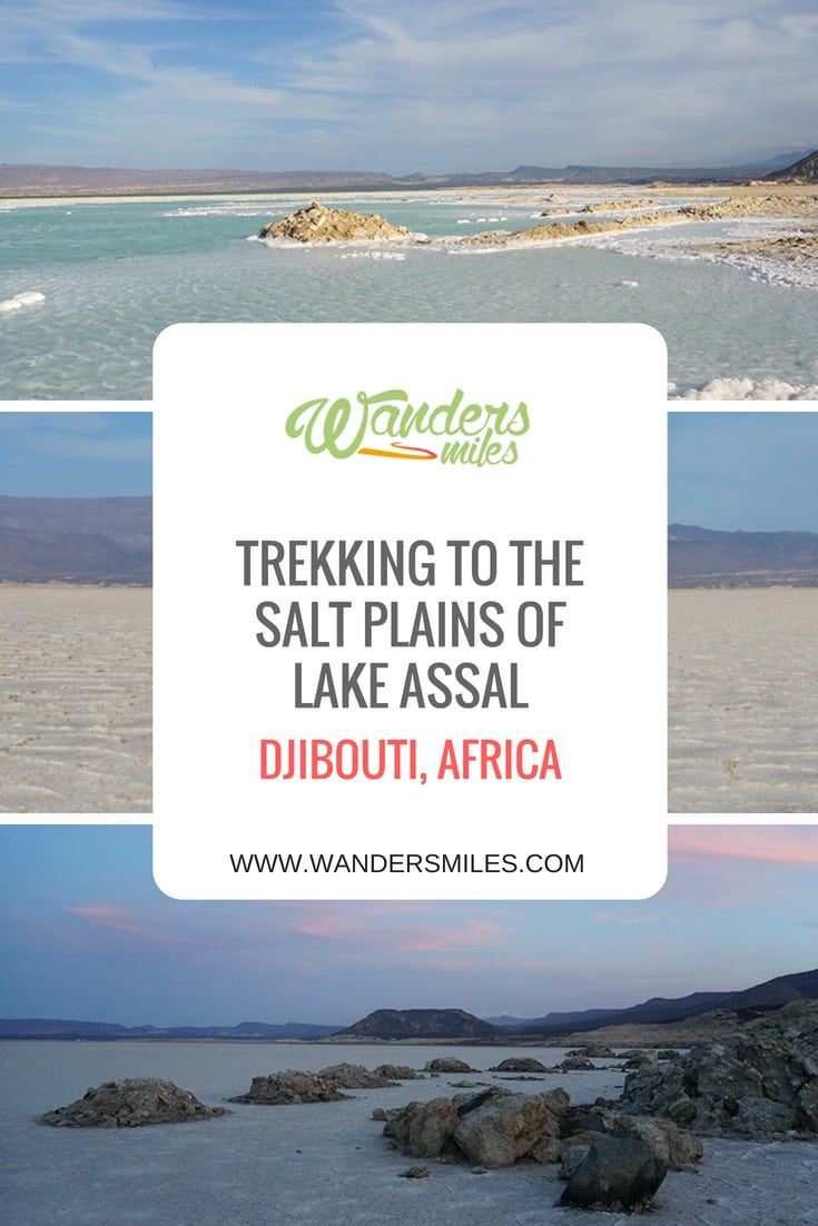 Trekking To The Salt Plains Of Lake Assal Djibouti Africa Travel Guide Djibouti Africa Destinations