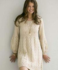 КРЕАТИВНЫЕ СПИЦЫ!: Платье спицами