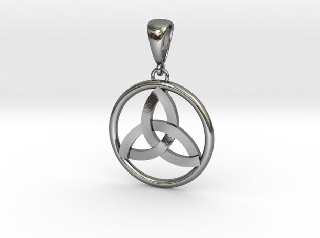 Pendant Amulet Triquetra (Celtic Trinity Knot) by ovchinnikov_jewelry