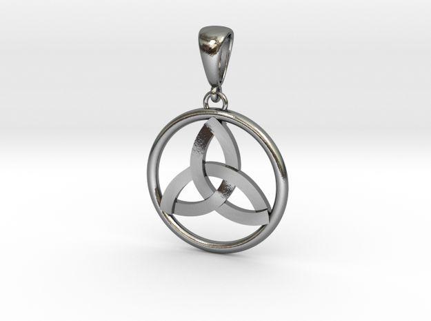 Pendant Amulet Triquetra (Celtic Trinity Knot)