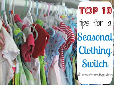 Spring (Wardrobe) Cleaning: 10 Tips for making the seasonal clothing switch easier.: Organizations Ideas, Clothing Storage, Seasons Clothing, Clean Tipster, Cleaning Tips, Clothing Switch, Charts Gener Organizations, Switch Easier, Spring Wardrobes