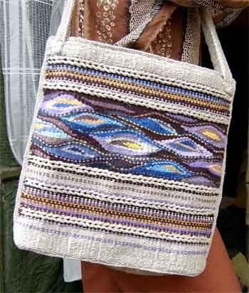 Tapestry handbags, tapestry