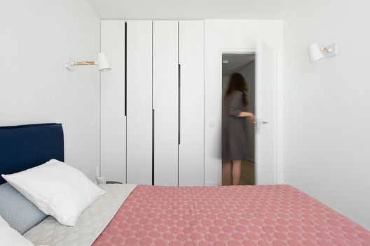 Apartment in Vilnius,© Leonas Garbacauskas