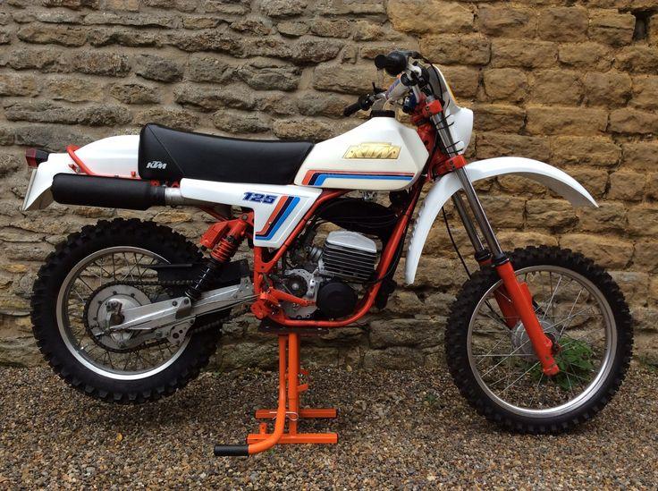 ktm 125 rv gs 1980 moto dirt bike parts vintage bikes. Black Bedroom Furniture Sets. Home Design Ideas