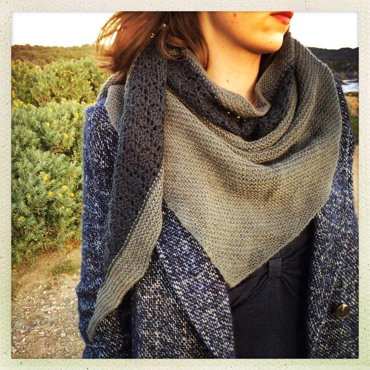 modele de chale au tricot facile gratuit