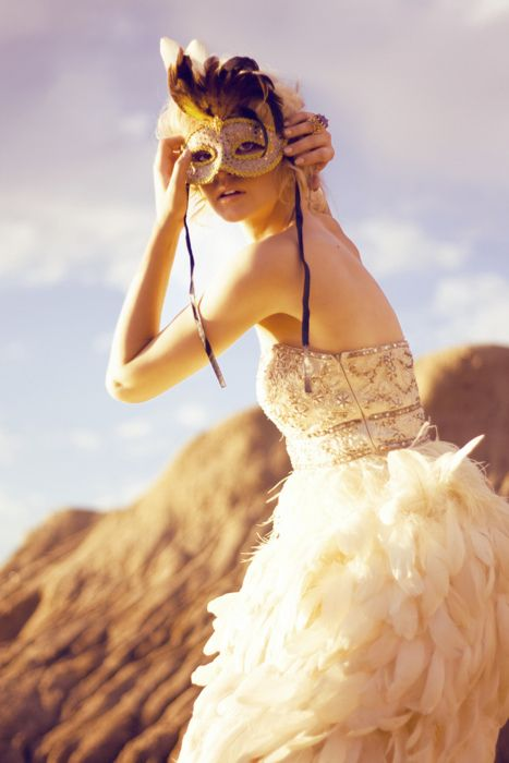 I want to live under a beautiful mask.....