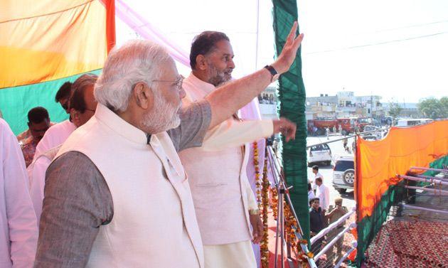 Shri Narendra Modi addresses rallies in Kurukshetra and Gurgaon, in Haryana