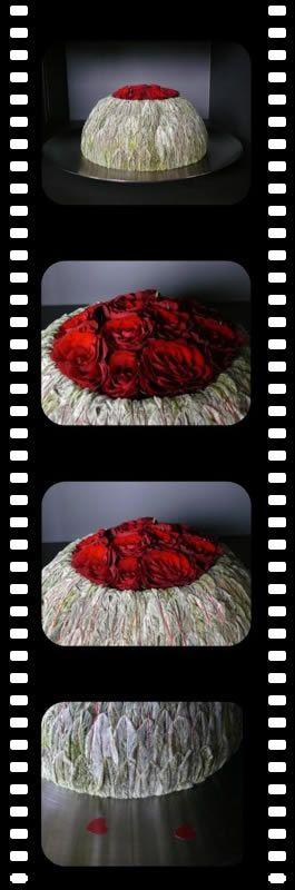 Bloembinden Valentijn - Stachys of ezelsoren bloemsierkunst zelf maken