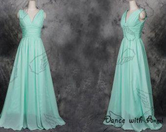 Vestidos de fiesta de pedrería azul vestido de por DanceWithAngel