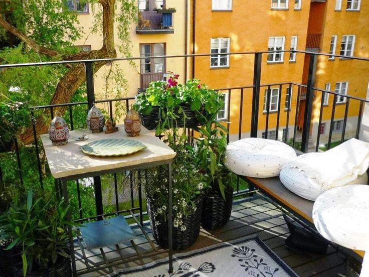 14 best balcony ideas images on pinterest - Small Patio Decorating Ideas Photos