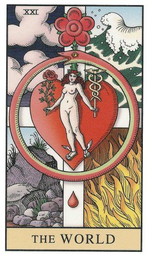 Alchemical Tarot -- the World