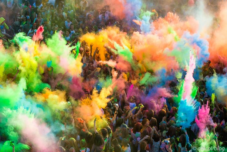 Festival of Colours #Praga #Warsaw #Poland