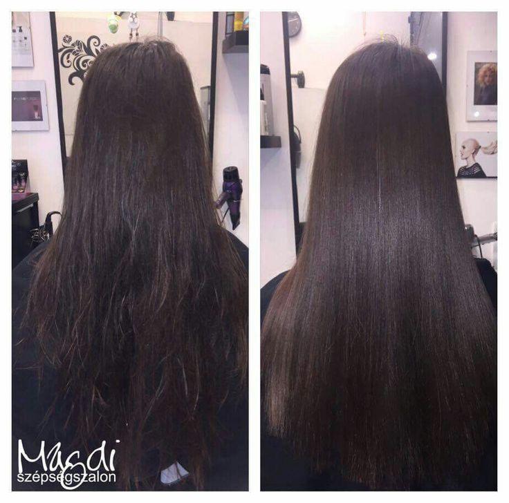 A tartós hajegyenesítés szolgáltatásunkkal - és a Brazil Cacau hatásával - könnyen kezelhető és egészséges lesz a hajad! :)  www.magdiszepsegszalon.hu/tartoshajegyenesites  #brazilkeratin #brazilcacau #keratin #keratinoshajegyenesítés #hajegyenesítés #hairdresser #fodrász #beautysalon #szépségszalon #szeretjukamunkankat #ilovemyhair #ilovemyjob❤️ #szeretemahajam