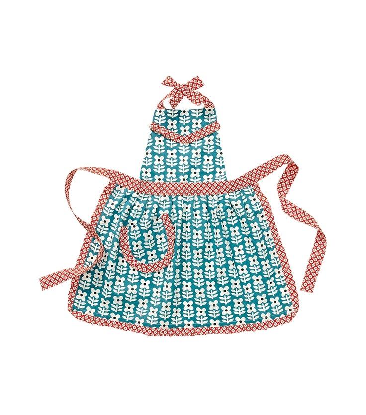 Tablier enfant hema robe pour lily pinterest for Tuto tablier cuisine enfant
