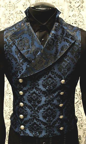 Mens Cavalier Vest by Shrine Clothing Gothic Dresses: