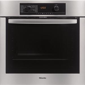 miele h5140bpin four pyrolyse 76 l 8 modes de cuisson pr conisation de temp rature. Black Bedroom Furniture Sets. Home Design Ideas