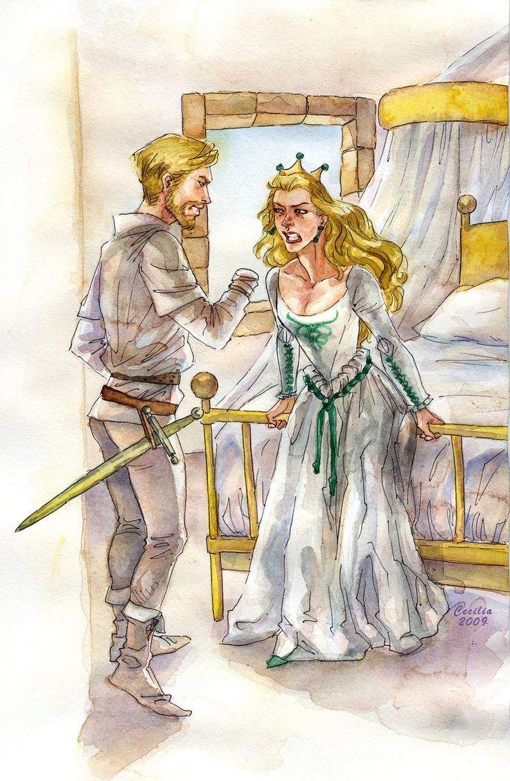 Cersei and Jaime 2 by cabepfir on deviantART