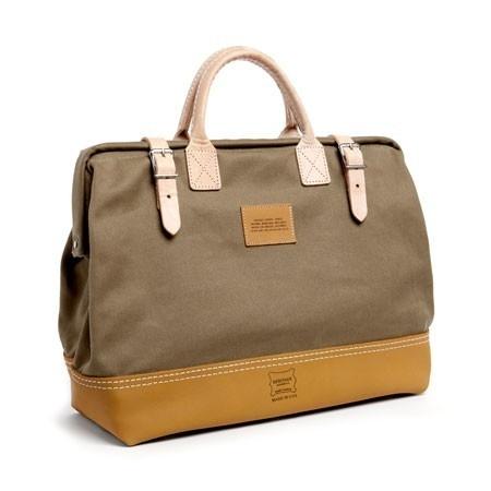 Apolis Heritage Leather + Apolis Mason Bag