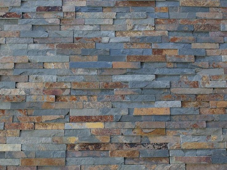 3d Wallpaper Or Wall Panel Or Wall Panels Stacked Stone Details About Multi Colour Slate Split Face Mosaic Tile