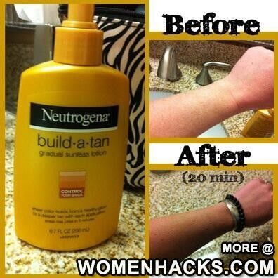 How To Get A Quick Tan -