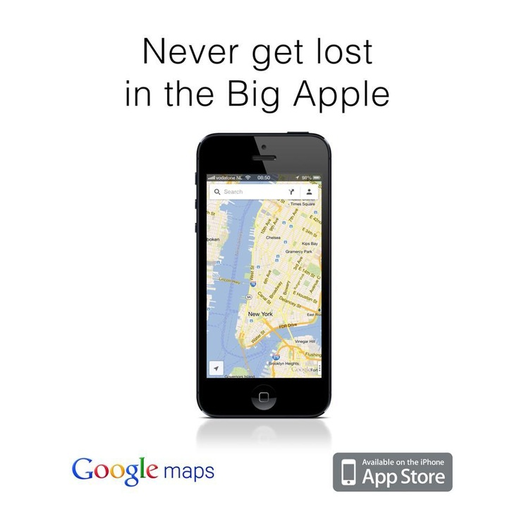 Never get lost in Big Apple   genius marketing from Google