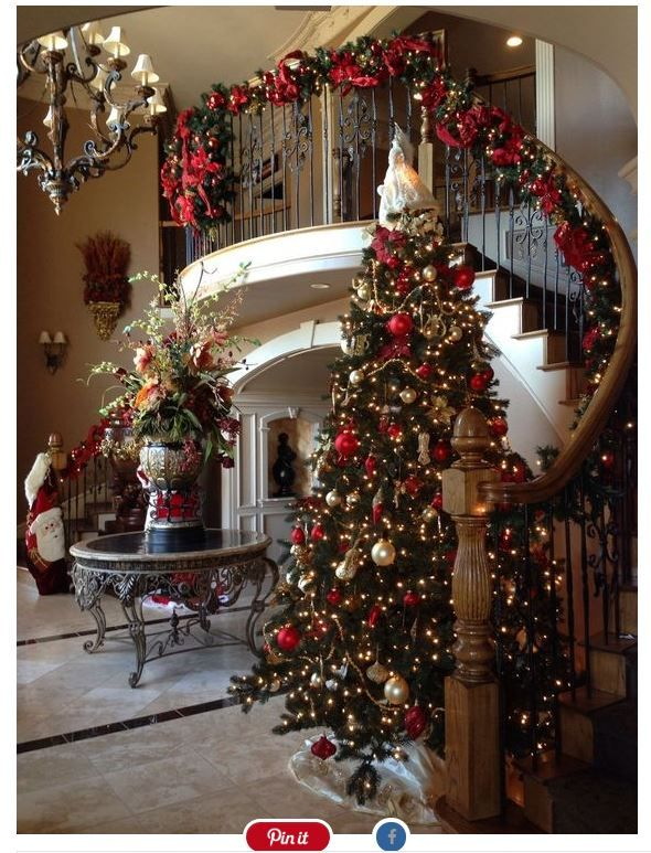 9 Ultimate Christmas Tree Decorations That Will Bring Joy To Your Home 9 Best C Elegant Christmas Trees Indoor Christmas Decorations Christmas Staircase Decor