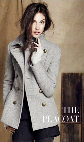 pretty perfect peacoat.  (totally need a peacoat for UK NYE!)